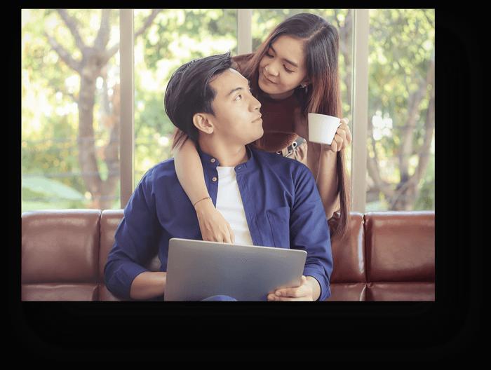 Asian-Couple