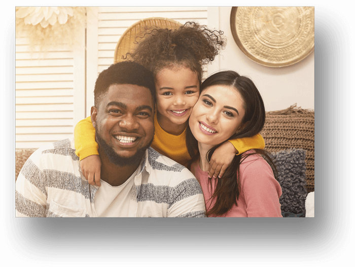 Family-of-Three-African-Dad